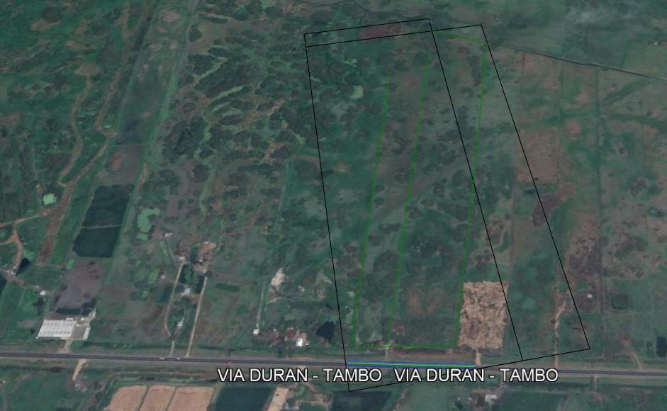Foto Terreno en Venta en  Norte de Durán,  Durán  Terreno 142.355 m², Vendo Vía Durán – Tambo, Km 13 Pasado El Peaje.
