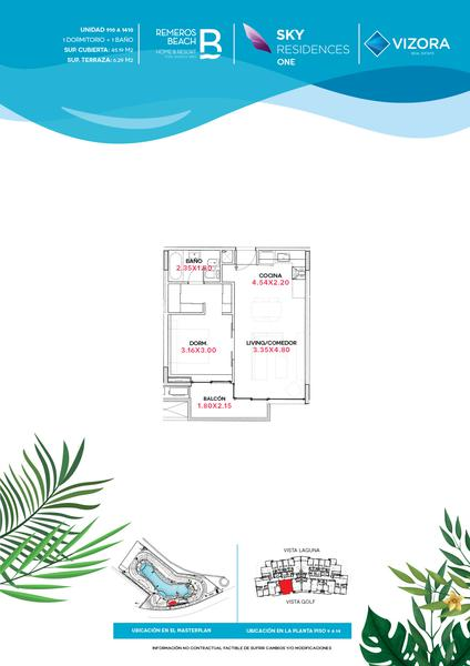Foto Departamento en Venta en  Remeros Beach,  Rincon de Milberg  RB | SKY 1 - 1310