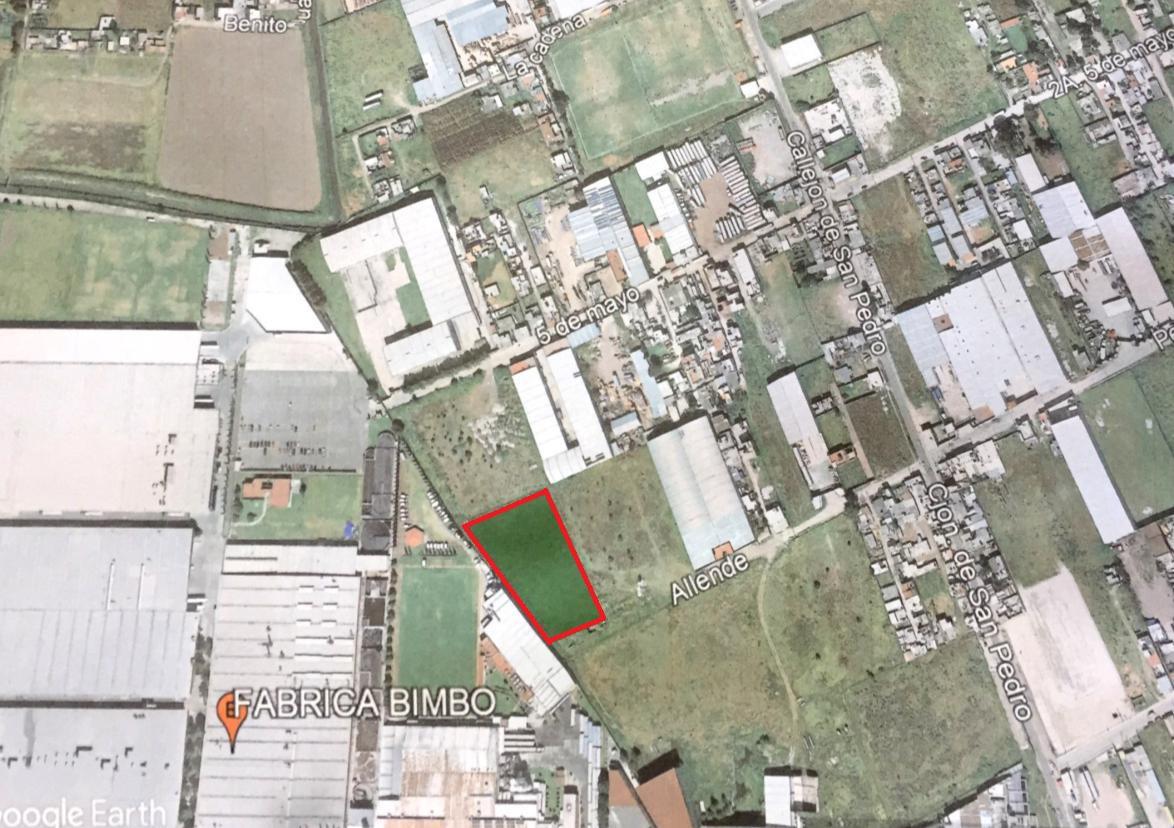 Foto Terreno en Venta en  San Pedro Totoltepec,  Toluca  Terreno Industrial en Venta de 5000m2 en San Pedro Totoltepec Toluca