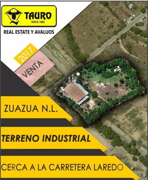 Foto Terreno en Venta en  Gral. Zuazua,  Gral. Zuazua  Terreno Industrial Zuazua