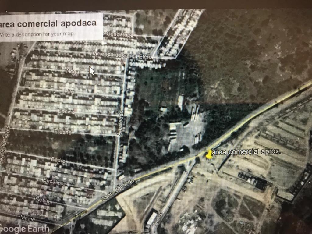 Foto Terreno en Venta en  Apodaca ,  Nuevo León  TERRENO COMERCIAL EN APODACA