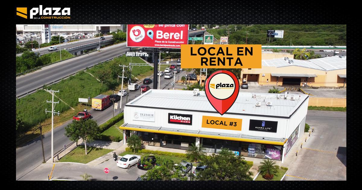 Foto Local en Renta en  Santa Gertrudis Copo,  Mérida  Local en Renta, Merida, Plaza de la construcción ¡Listo para Entrega!