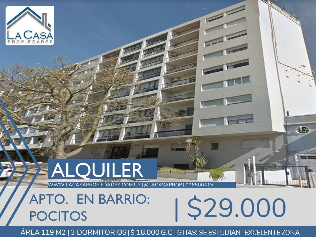 Foto Apartamento en Alquiler en  Pocitos ,  Montevideo  Dr. Francisco Soca al 1200