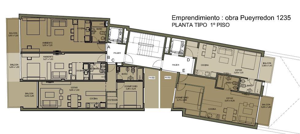 Foto Departamento en Venta en  Barrio Norte ,  Capital Federal  Av. Pueyrredon y Marcelo T. de Alvear 10° B
