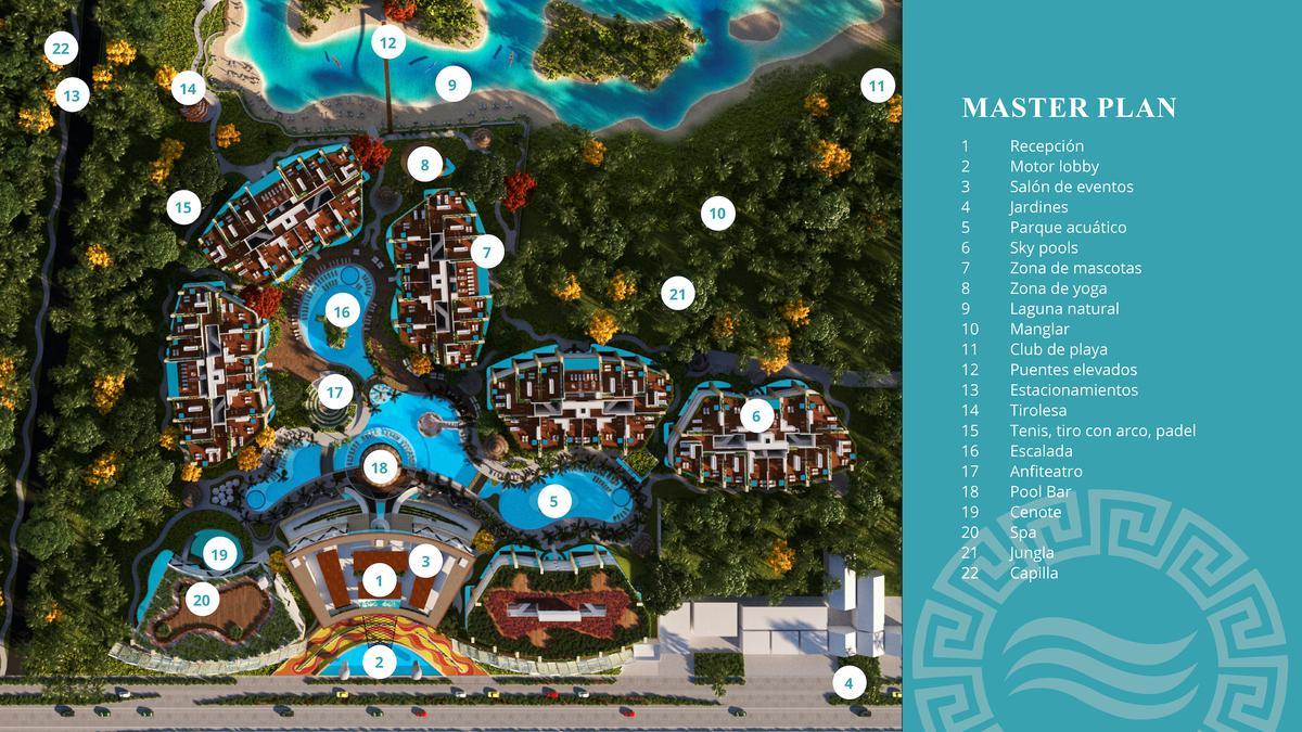 Foto Departamento en Venta en  Puerto Morelos,  Cancún  Grand Mayakaan Residences Desarrollo inmobiliario de alta gama by Wyndham