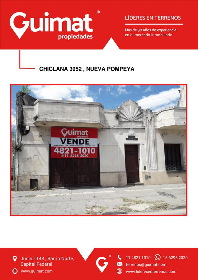Foto Galpón en Venta en  Pompeya ,  Capital Federal  CHICLANA al 3900