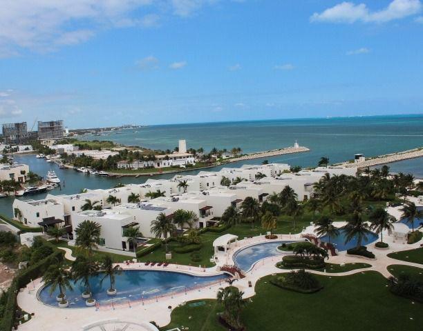 Foto Departamento en Renta en  Puerto Cancún,  Cancún          Puerto Cancun, Novo Cancun. Departamento de Lujo En Renta Frente al Mar de 4 recámaras. Cancun Quintana Roo
