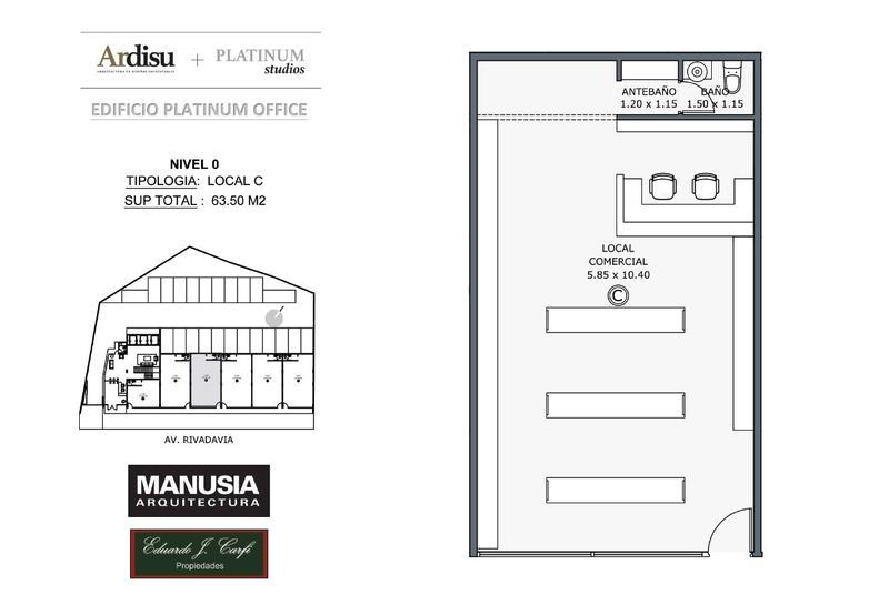Foto Local en Venta en  Castelar Norte,  Castelar  Platinum Office - Rivadavia 19.861 (0C)