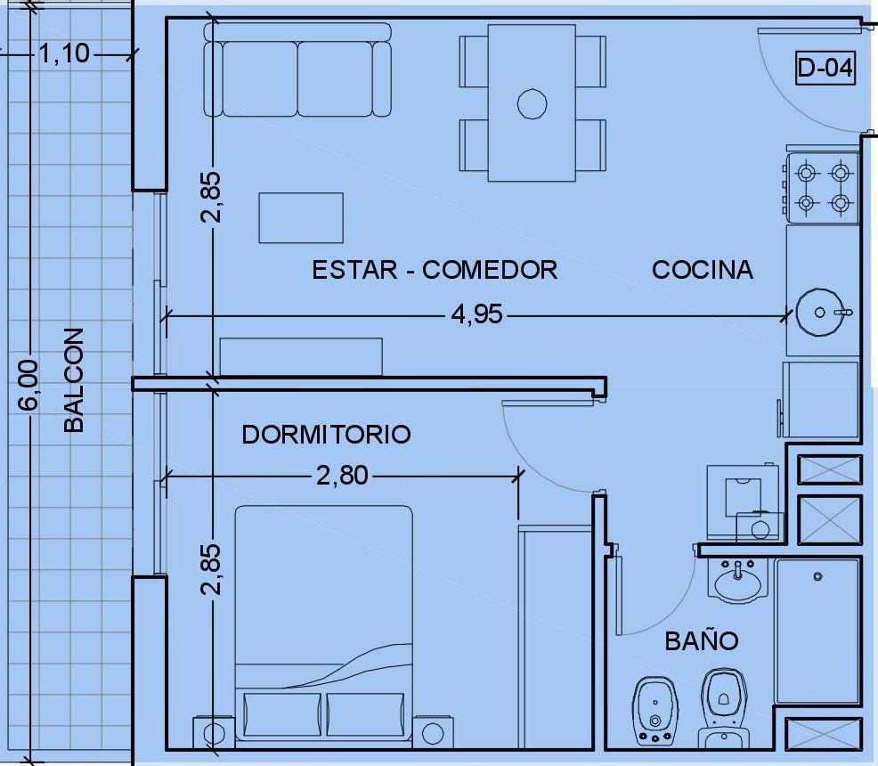 Foto Departamento en Venta en  Rep.De La Sexta,  Rosario  27 DE FEBRERO Y BUENOS AIRES