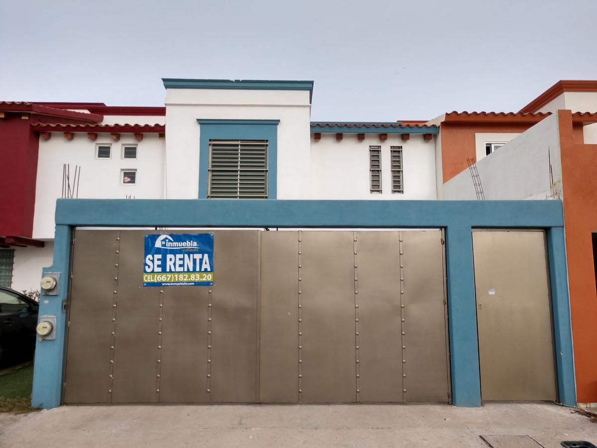 Foto Casa en Renta en  Fraccionamiento Valle Alto,  Culiacán   Casa 4 Habitaciónes 4 Baños Equipada Valle alto