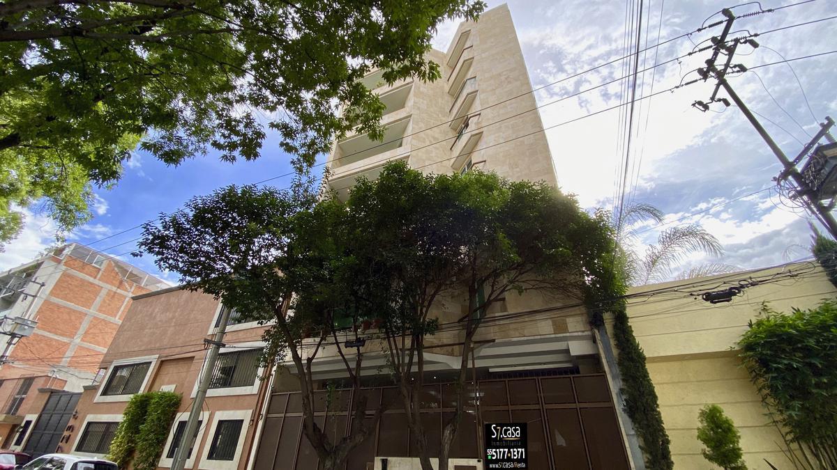 Foto Departamento en Renta en  Del Valle,  Benito Juárez  Renta Departamento Amueblado Col Del Valle, 3 Recamaras,  piso 6.