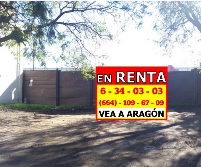 Foto Campo en Renta en  La Mesa,  Tijuana  RENTAMOS EXCELENTE TERRENO DE 1000 Mts² EN LA MESA ANN