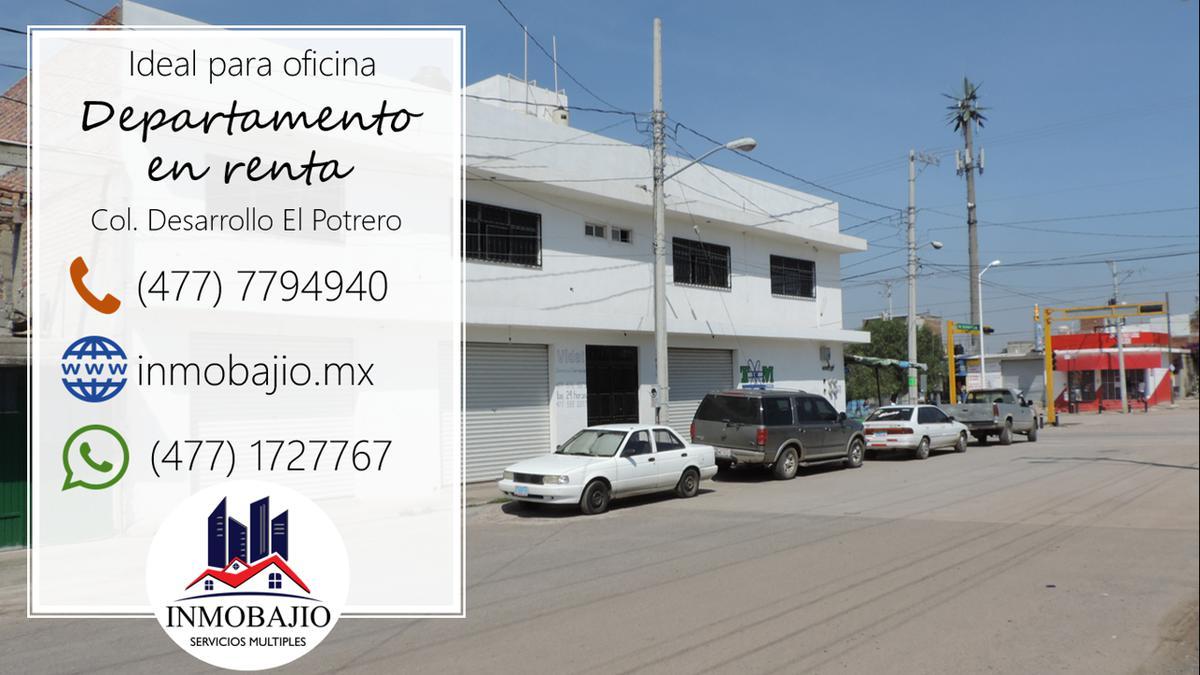 Foto Oficina en Renta en  Desarrollo El Potrero,  León  Departamento en planta alta ideal para oficina