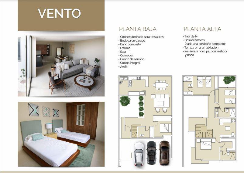 Foto Casa en condominio en Venta en  Aguascalientes ,  Aguascalientes  Casa en Venta Residencial Punta Dorada -  Vento