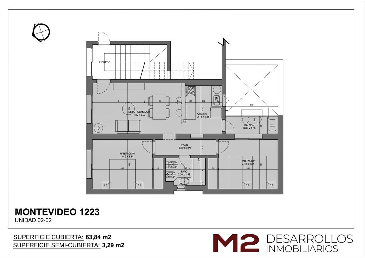 Foto Departamento en Venta en  Macrocentro,  Rosario  Montevideo 1223