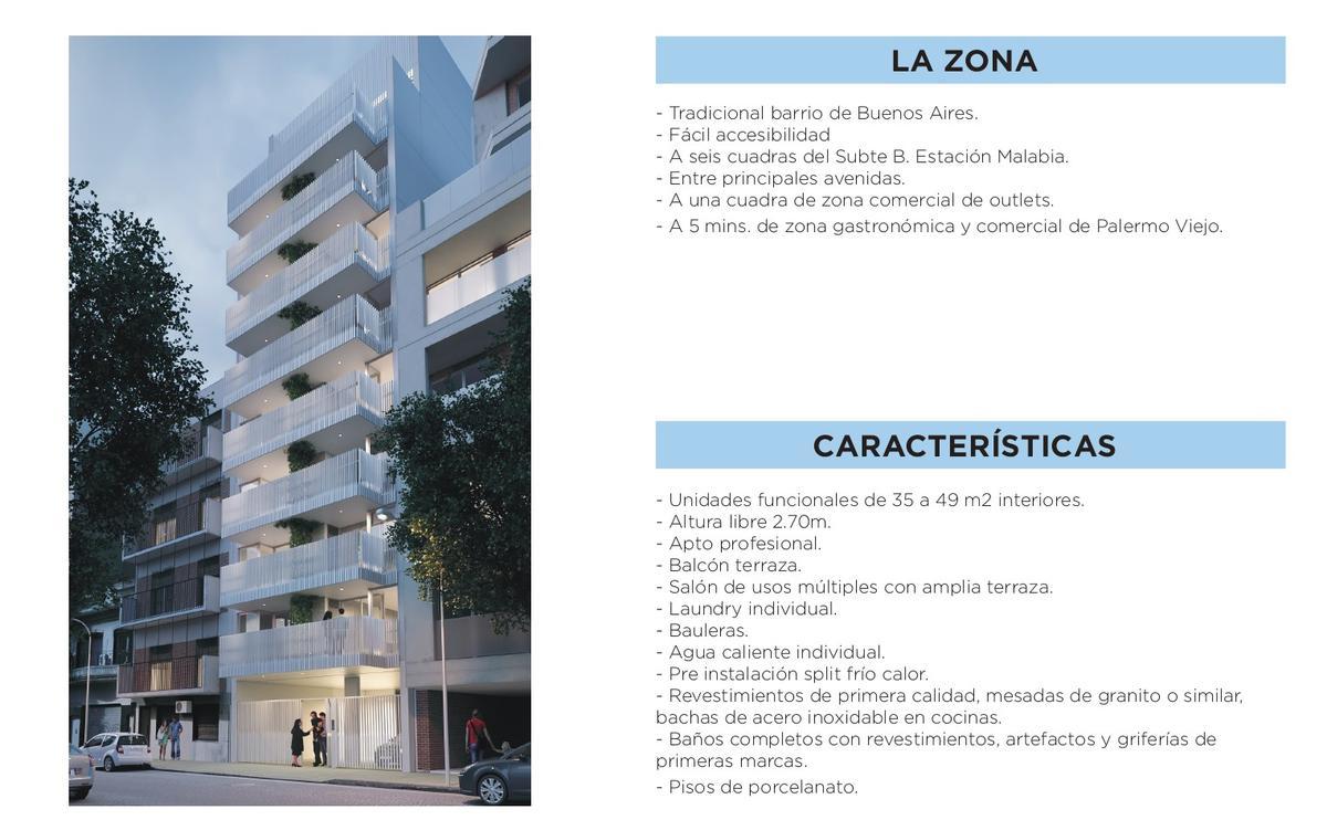 Foto Departamento en Venta en  Villa Crespo ,  Capital Federal  Araoz al 700