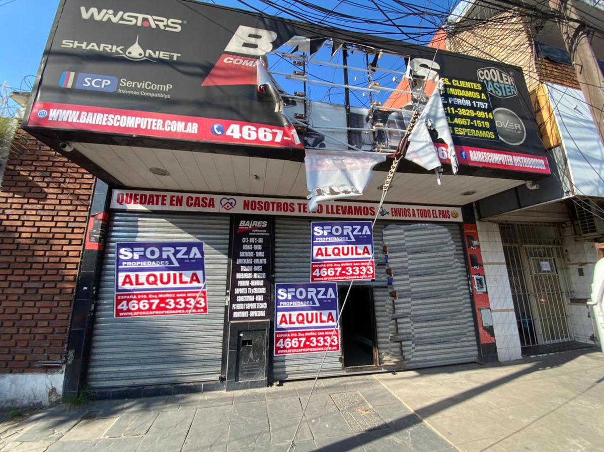 Foto Local en Alquiler en  Centro (S.Mig.),  San Miguel  ALEM al 1600