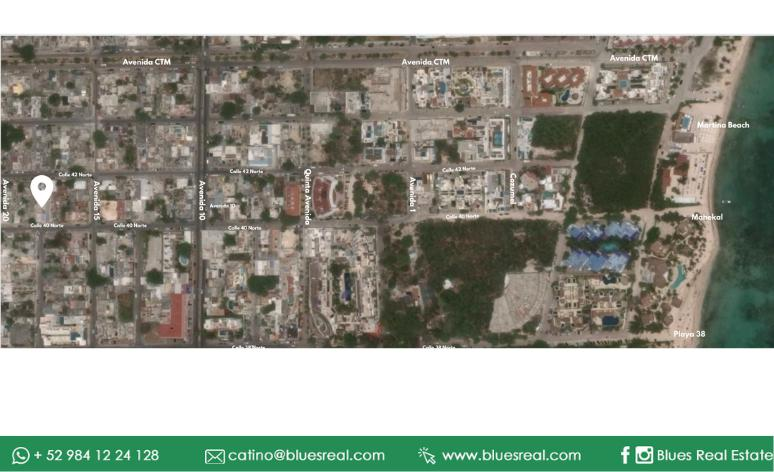 Picture Land in Sale in  Solidaridad ,  Quintana Roo  For sale land in Playa del Carmen (Opportunity for investing in a commercial project) - Code 971