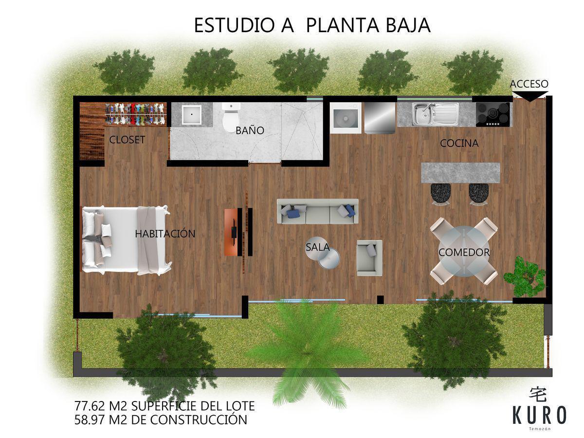 Foto Departamento en Venta en  Temozon Norte,  Mérida  Venta Departamentos y Townhouses en Mérida Norte- Temozón