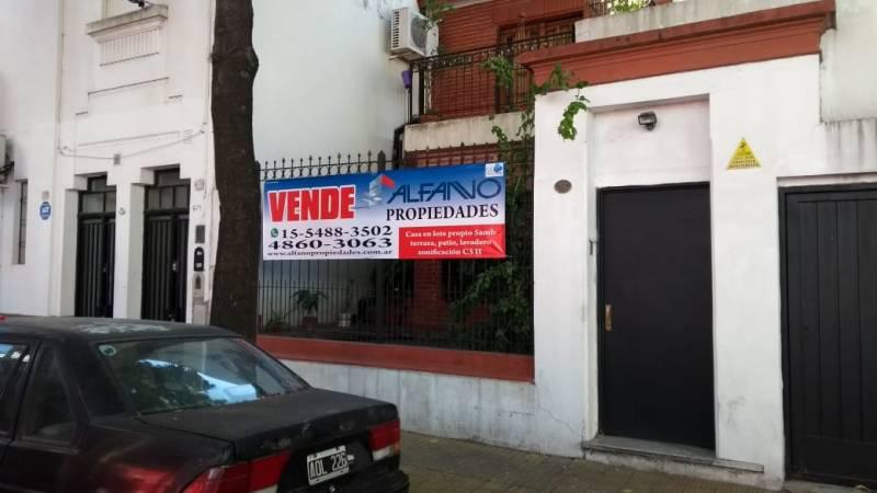 Foto Casa en Venta en  Villa Crespo ,  Capital Federal  Ampere al 800