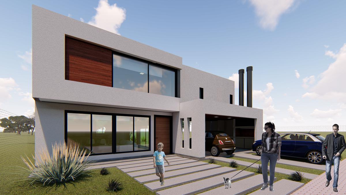 Foto Casa en Venta en  Las Cañitas Barrio Privado,  Malagueño  Casa en construcción (se entrega terminada) - Las Cañitas Barrio Privado - 3 dorm - 3 Baños - Divina!!