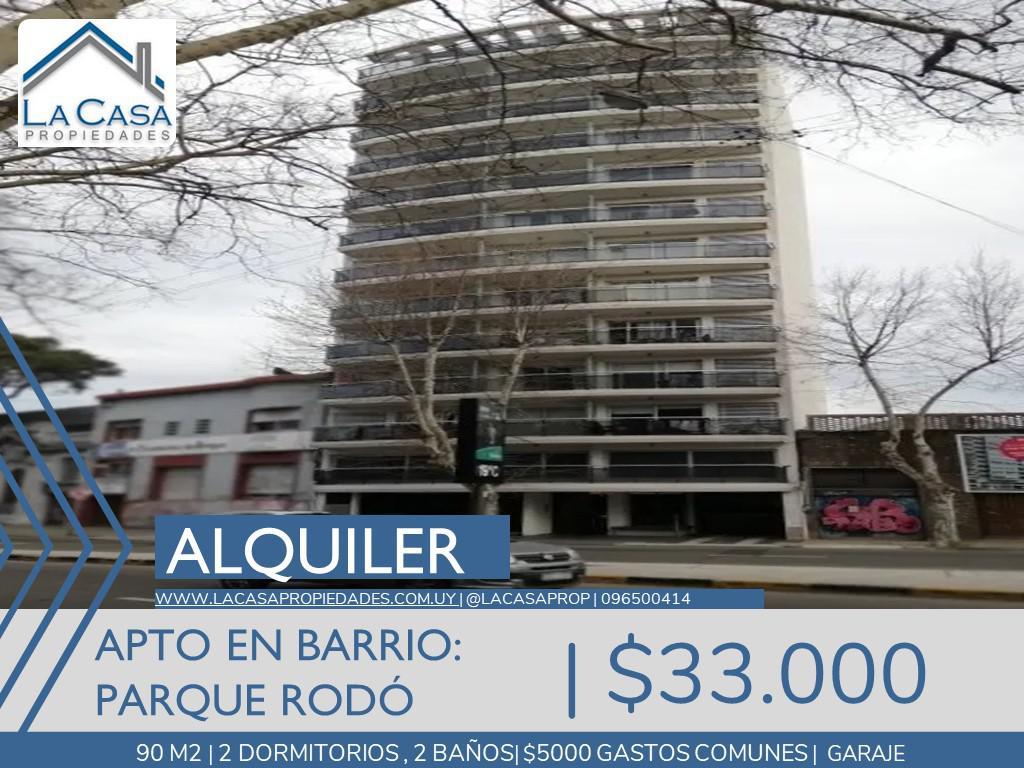 Foto Apartamento en Alquiler en  Parque Rodó ,  Montevideo  Maldonado al 2000