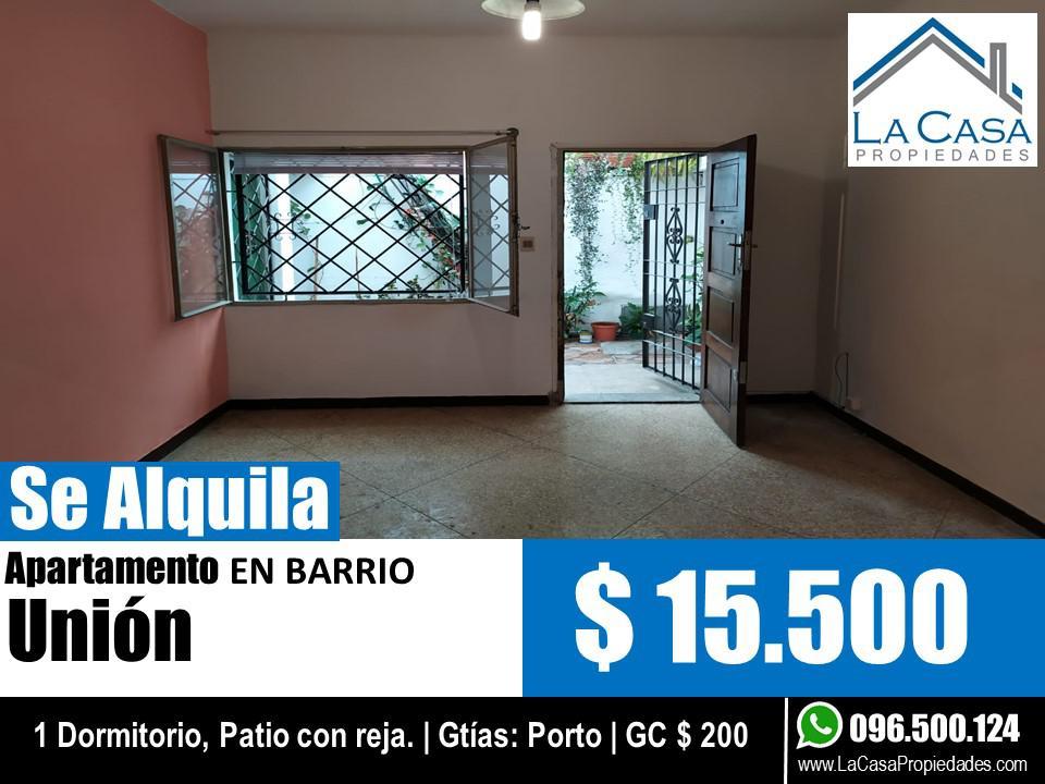 Foto Apartamento en Alquiler en  Unión ,  Montevideo  Gral Ignacio Oribe al 2700
