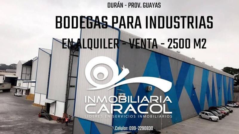 Foto Depósito en Alquiler en  Norte de Guayaquil,  Guayaquil  Bodegas Via Daule Perimetral Inmaconsa 4300 m2