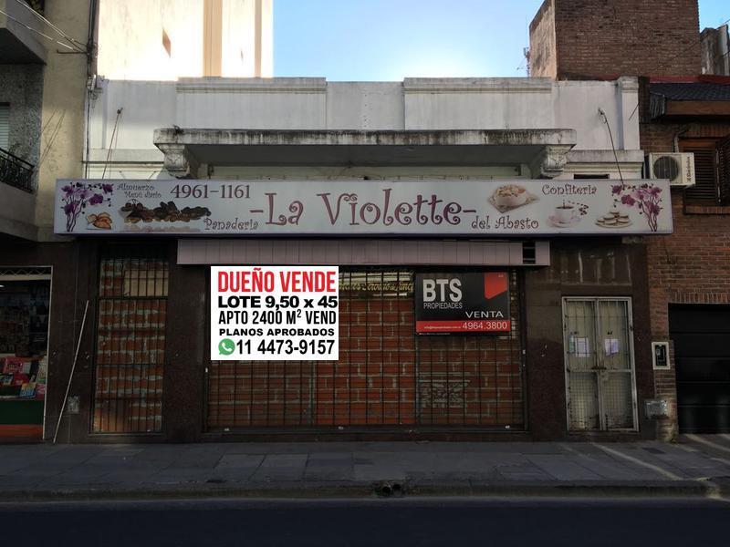 Foto Terreno en Venta en  Abasto ,  Capital Federal  Anchorena al 700