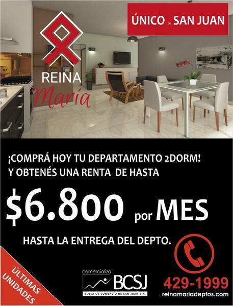 Foto Departamento en Venta en  Capital ,  San Juan  Complejo Reina Maria 1 dormitorio