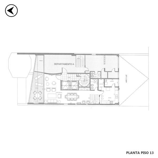 venta departamento 3 dormitorios Rosario, San Luis 400. Cod CAP3550164 Crestale Propiedades