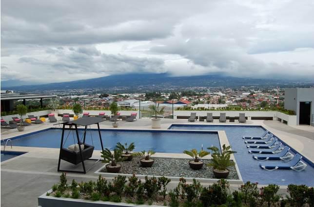 Foto Departamento en Renta en  Mata Redonda,  San José  Torres de Paseo Colón / Piso 12 / Hermosa vista
