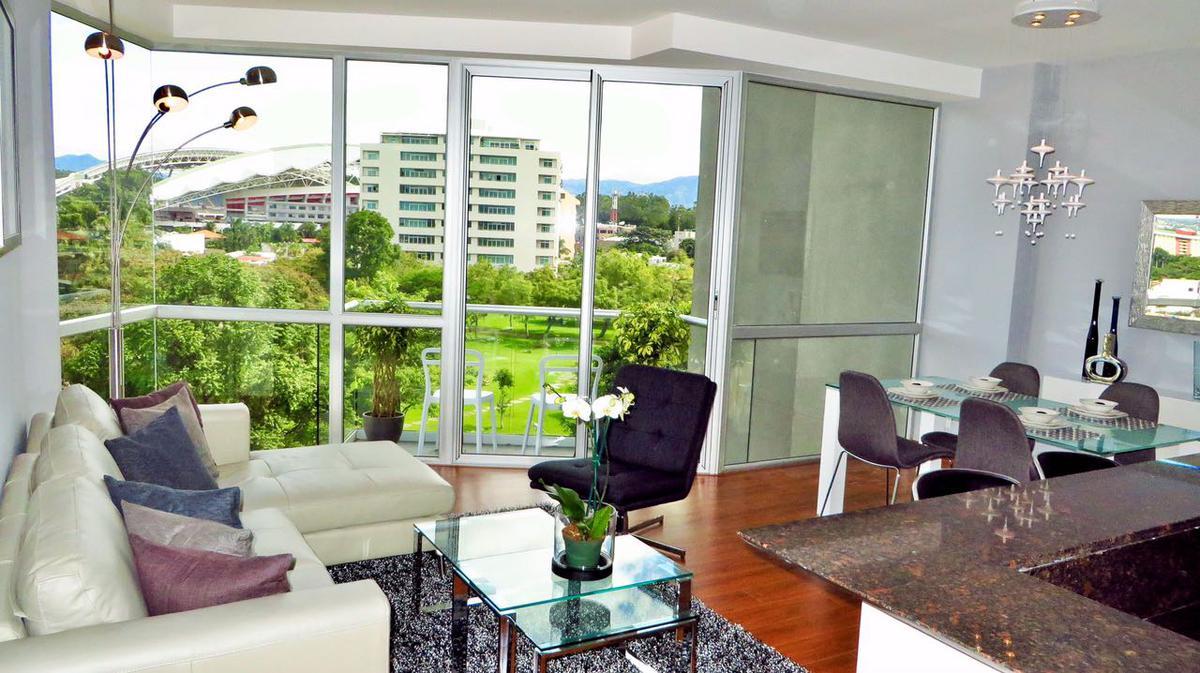 Foto Departamento en Renta en  Mata Redonda,  San José   Nunciatura/ Amueblado / 1 Habitación/ Vista/  Plusvalía/  Servicios Incluidos