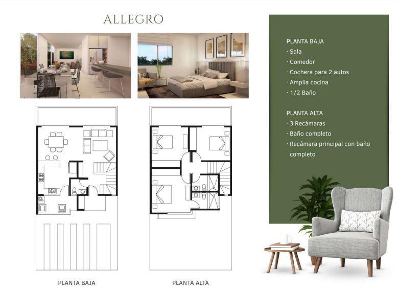 Foto Casa en Venta en  Aguascalientes ,  Aguascalientes  Casa en Venta Fracc. Porta Vitta ALLEGRO