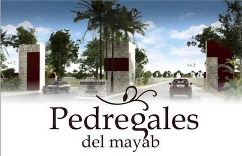 Foto Terreno en Venta |  en  Mérida ,  Yucatán  LOTE RESIDENCIAL EN PEDREGALES DEL MAYAB