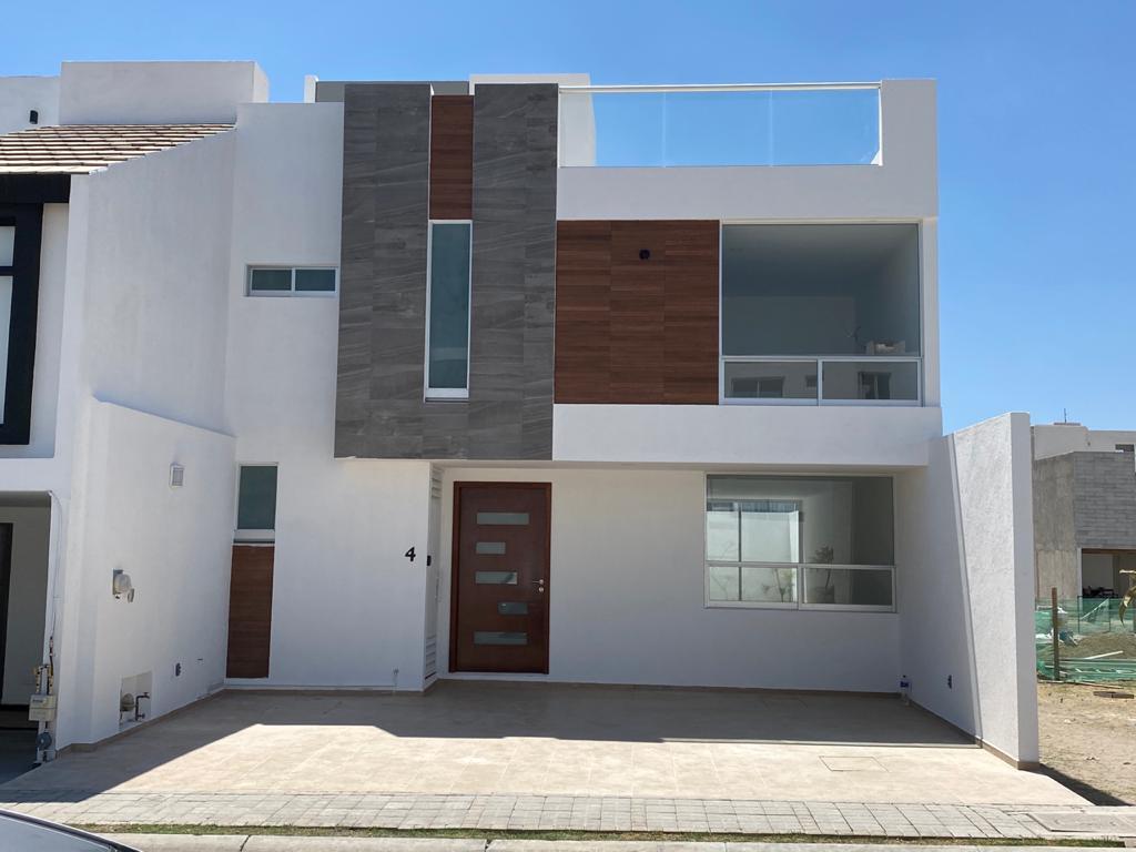 Foto Casa en Venta en  Fraccionamiento Lomas de  Angelópolis,  San Andrés Cholula  Casa en Venta Circuito Montecristo N° 04. Parque Mediterraneo