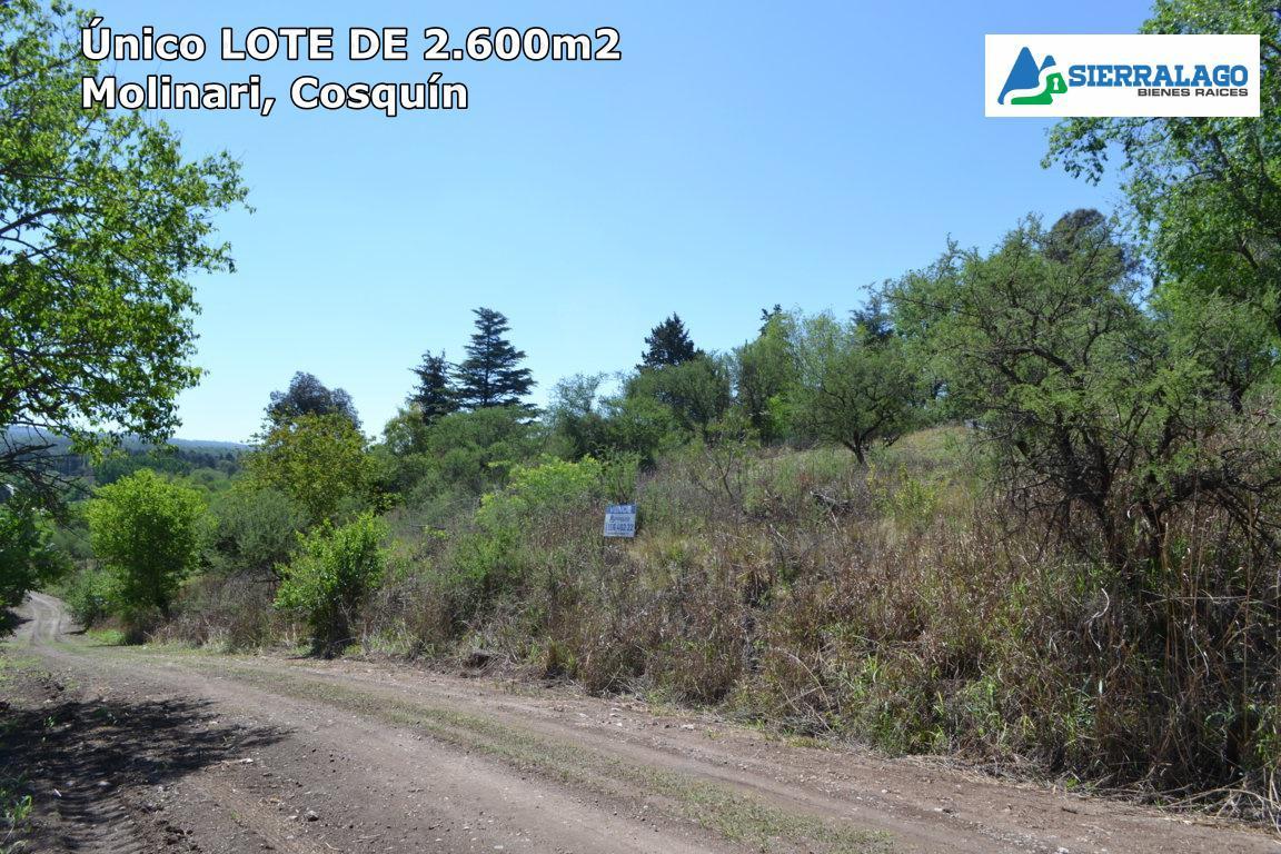 Foto Terreno en Venta en  Cosquin,  Punilla  Gran lote en Manzana 78, Molinari