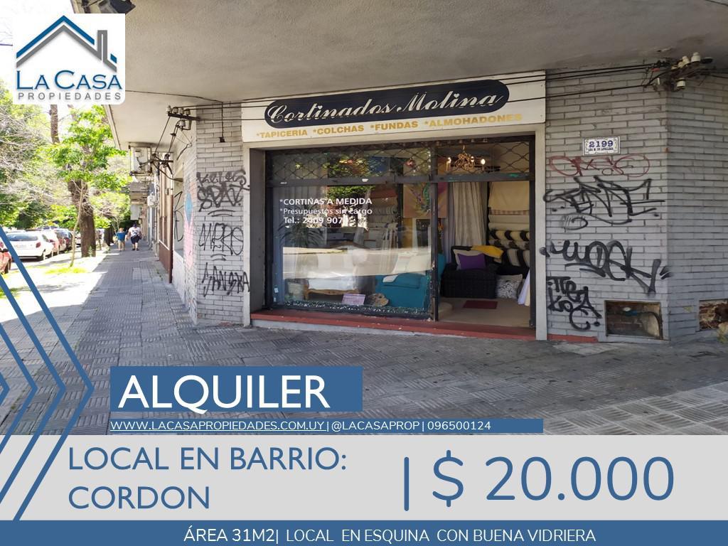 Foto Local en Alquiler en  Cordón ,  Montevideo  Ana Monterroso al 2100