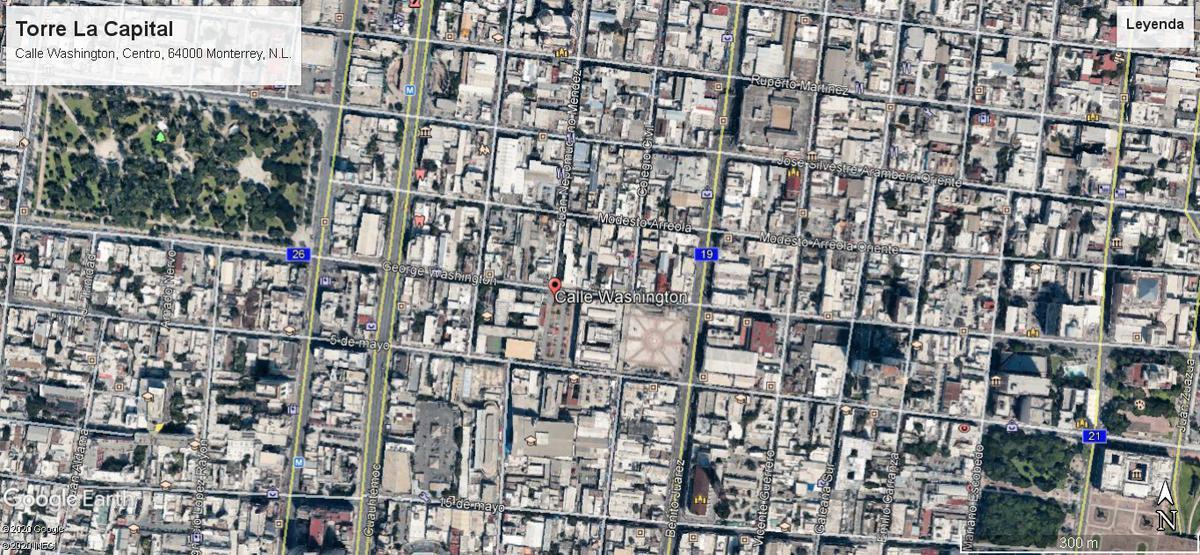 Foto Departamento en Renta en  Centro,  Monterrey  Torre La Capital, Centro Mty