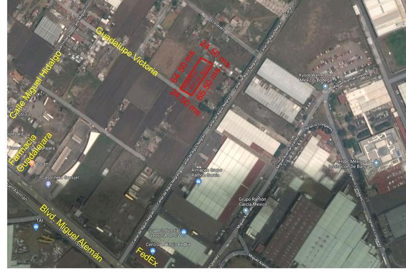 Foto Terreno en Venta en  San Nicolás Tolentino,  Toluca  Venta de Terreno Industrial en San Nicolás Tolentino, Toluca,