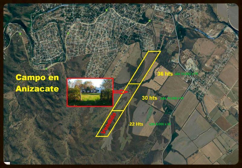 Foto Campo en Venta en  Valle de Anisacate,  Santa Maria  OPORTUNIDAD - Campo en Anisacate -  Ideal Loteo y Producción