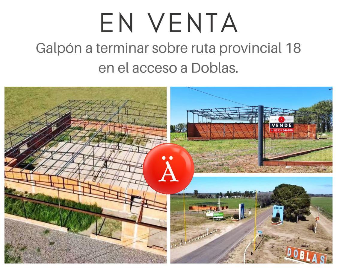 Foto Galpón en Venta en  Doblas,  Atreuco  RP 18 Acceso a Doblas