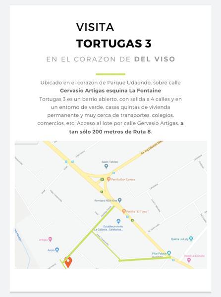 Foto Terreno en Venta en  Parque Udaondo,  Del Viso  Gervasio Artigas y La Fontaine