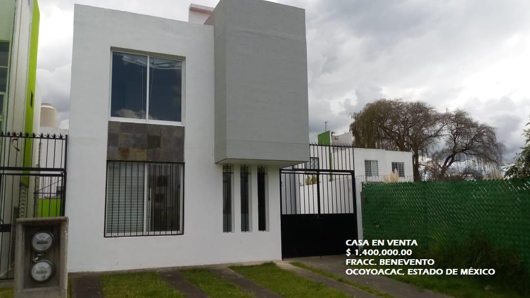 Foto Casa en condominio en Venta en  Ocoyoacac ,  Edo. de México  Casa en VENTA, Fracc. Benevento, Ocoyoacac; Estado de México