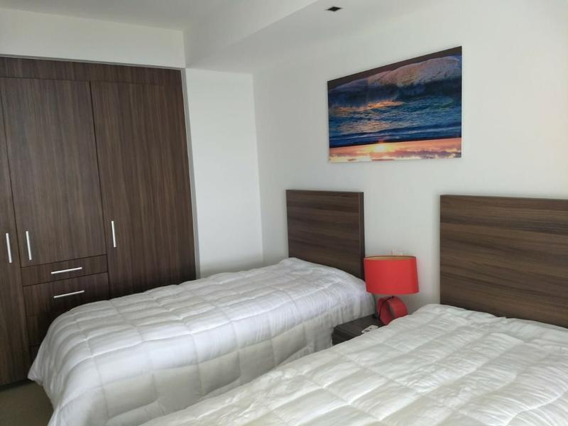 Foto Departamento en Renta en  Cancún Centro,  Cancún  Rento Departamento sin Muebles Cancun, Malecon Americas, Piscina, Gym