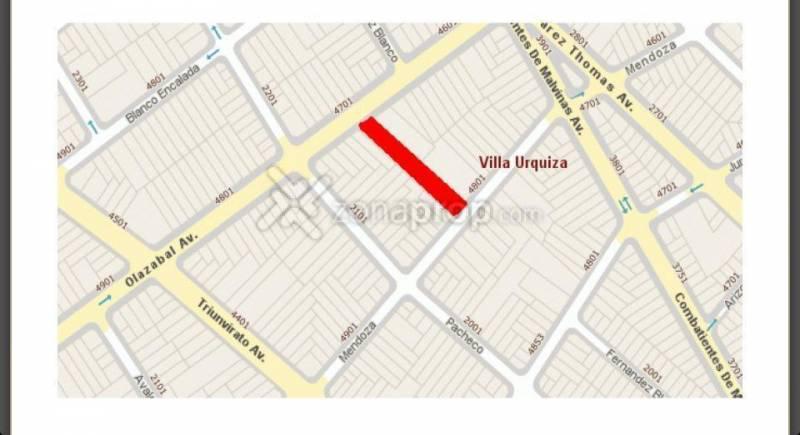 Foto Terreno en Venta en  Villa Urquiza ,  Capital Federal  Avenida Olazábal  al 4700