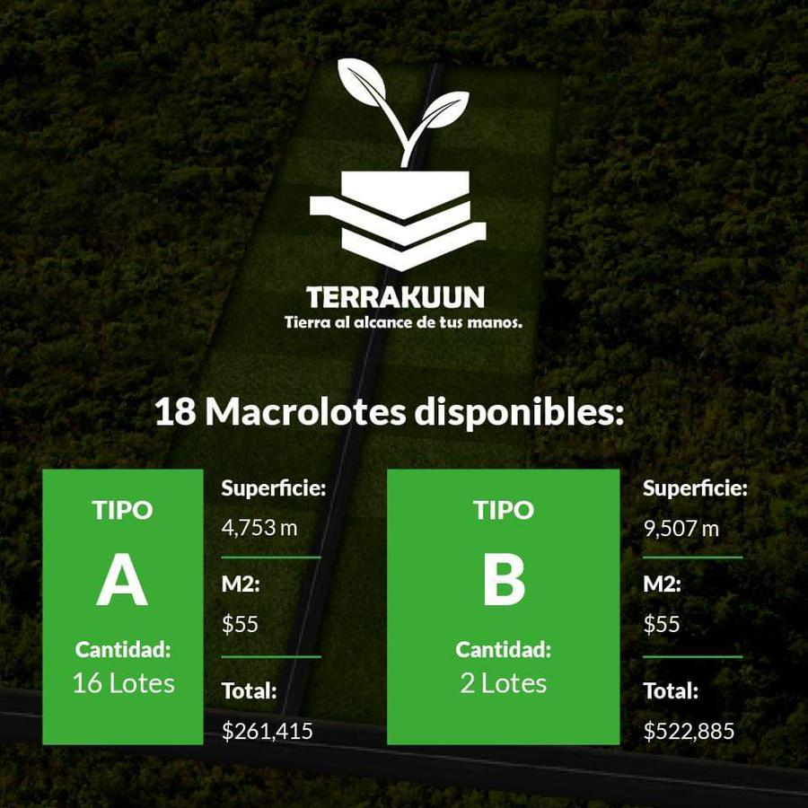 terreno en venta - macrolotes en venta en ixil con facilidades de pago. yucatán