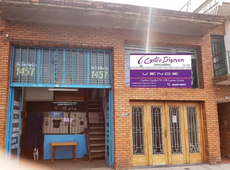 Foto Local en Venta en  Lanús Oeste,  Lanús  Av. San Martin al 1400