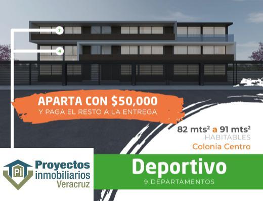 Foto Departamento en Venta en  Veracruz ,  Veracruz  DEPARTAMENTO EN PREVENTA COLONIA CENTRO VERACRUZ VERACRUZ