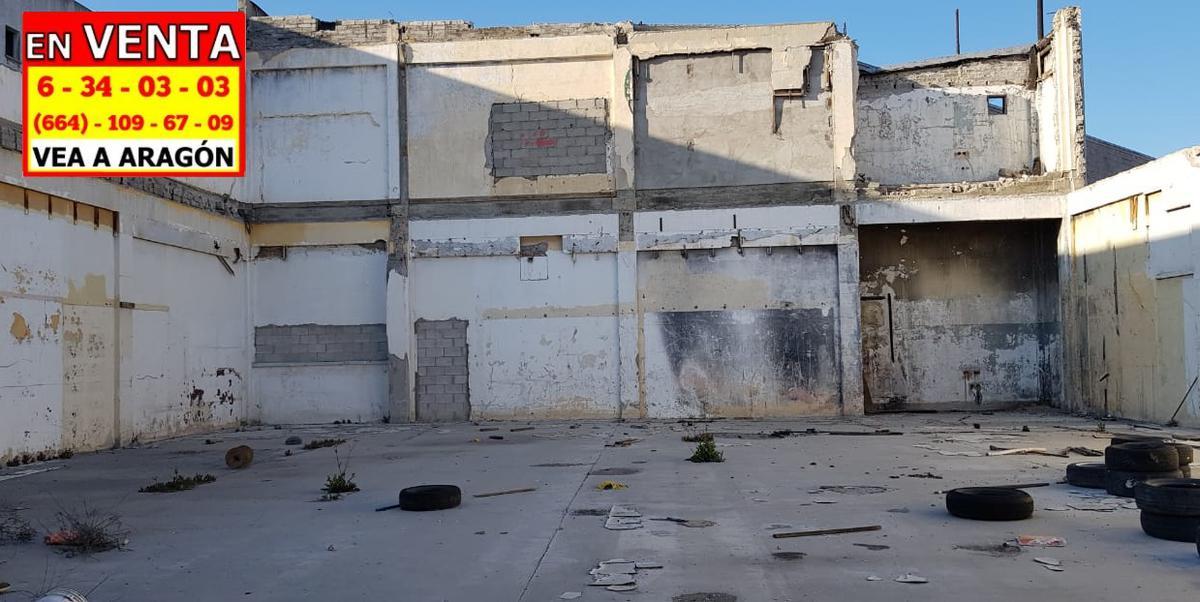 Foto Terreno en Venta en  Tijuana ,  Baja California Norte  VENDEMOS TERRENO 3,000 M2 EN EL CENTRO DE TIJUANA EXCELENTE UBICACIÓN, CON BODEGA DE 1,000 M2